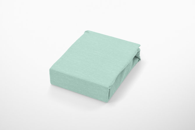 Plahta Jersey s gumicom - Zelena
