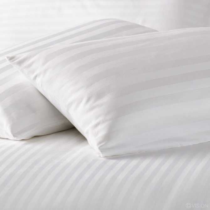 Jastučnica saten pruga 1 cm