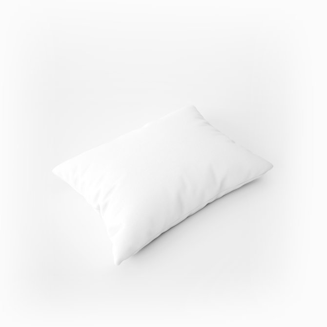 Jastučnica Ravno Platno - Bijela