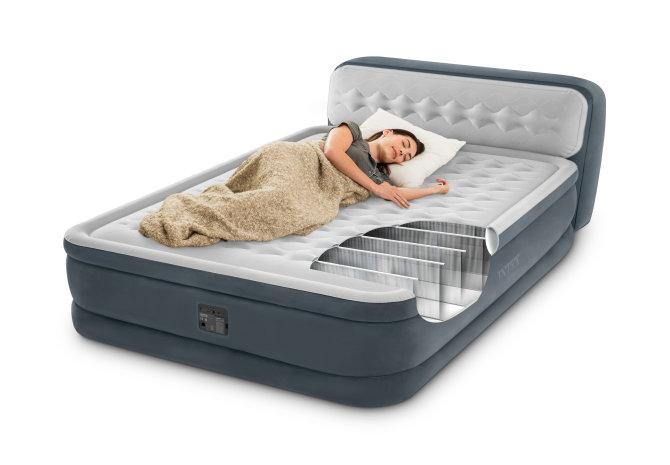 Intex zračni krevet headboard queen sa ugrađenom pumpom
