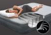 Intex zračni krevet Queen Dura Beam Mid-Rise sa ugrađenom pumpom